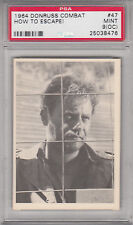 1964 DONRUSS COMBAT PSA GRADED 9 (OC) MINT #47 HOW TO ESCAPE