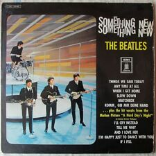 BEATLES SOMETHING NEW GERMANY LP on ODEON with GERMAN LANGUAGE SONG