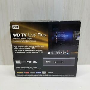 Digital WD TV Live Plus HD Media Player Streamer WDBABX0000NBK-NESN