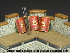KING AND COUNTRY Romans - Roman Shields & Spears Set SP109 Painted Metal