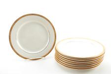 1-8 Charter Club  Classics Bridgeton Gold Salad Plates 8 Inch