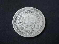 Austria, 1 Florin,1858 A, silver