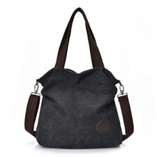 Casual Womens Hobo Canvas Handbag Shoulder Bags Purse Tote Large Sactchel Large