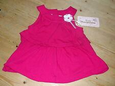 Kids Headquarters Cotton Rich Tiered Layered Dress 6-9mths 74cm Pink Mix BNWT