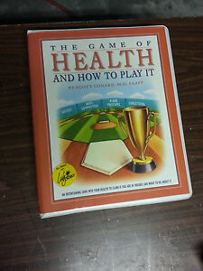 THE GAME OF HEALTH & HOW TO PLAY IT SCOTT CONARD VHS
