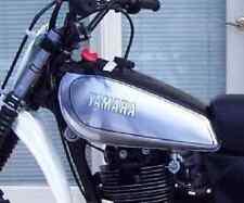 YAMAHA Fuel Tank Decal TT500'80, Black/White, complete Set LH/RH 20-033