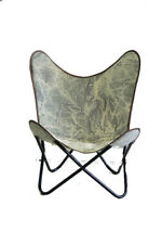 SKY Grey Chair Iron Stand With Leather Cover for Indoor Outdoor