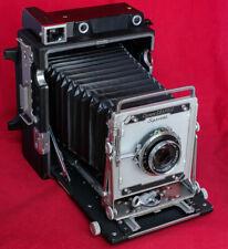 Graflex Crown Graphic 4X5 film camera w/Schneider K 135mm F/4.7 lens Excellent