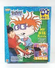 Vintage 90's Rugrats Chuckie 46 Piece Floor My Size Puzzle Mattel Nickelodeon