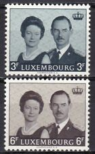 LUXEMBOURG #415-416 MNH GRAND DUKE JEAN'S ACCESSION TO THRONE