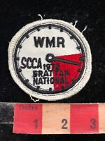 Vtg 1972 GRATTAN NATIONAL WMR SCCA Sports Car Club America Racing Patch 03I
