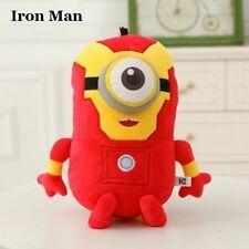Minion Iron Man Peluche Gru Iron Man Minion Plush Despicable Me 20 cm