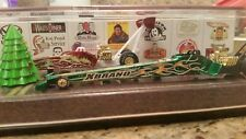 HOT WHEELS MATTEL EMPLOYEES CHRISTMAS HOLIDAY DRAGSTER SET 2002 # 106 of 200 rar