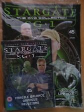 DVD COLLECTION STARGATE SG 1 PART 45 + MAGAZINE - NEW SEALED IN ORIGINAL WRAPPER