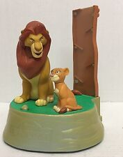 Large Disney The Lion King-Simba's Pride Moving / Talking Coin Bank (money)