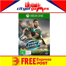 Rugby League Live 4 Xbox One Game New & Sealed Free Express Post In Stock Now