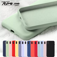 Original Liquid Silicone Soft Phone Case for iPhone 11 Cases Rubber Soft Candy