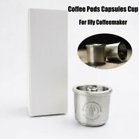 Stainless Coffee Pods Reusable Capsules Cup  For Illy Coffeemaker