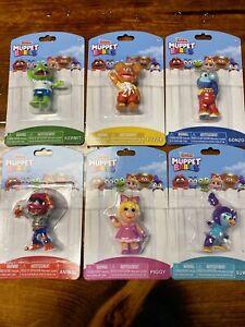 Disney Jr Muppet Babies 6 Figures Kermit Piggy Fozzie Gonzo Animal Summer NEW!
