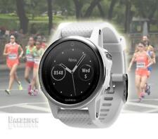 GARMIN Fenix 5S Watch Silver Carrara Band GPS HRM Sports Running Triathlon Golf