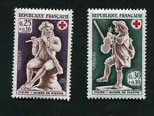 Série FRANCE neufs TB** YT n° 1540 + 1541 - CROIX-ROUGE - 1967
