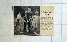 1956 Baton Training Mr Armond Sports Master Christchurch School Virginia Water