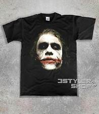 T-SHIRT JOKER 1 The Knight dark BATMAN Heath Ledger The dark Knight  L
