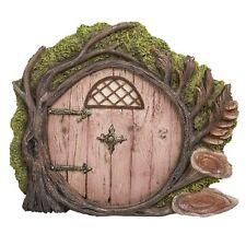 Miniature Fairy Garden of Enchantment Fairy Gnome Hobbit Tree Cottage Door 4 Inc