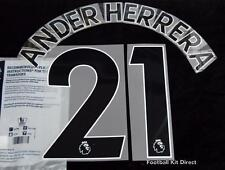 Manchester United Ander Herrera Football Shirt Name Set 2017/18 Away Sporting ID