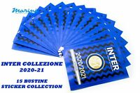INTER OFFICIAL STICKER ALBUM COLLECTION 15 BUSTINE DI FIGURINE 2020 - 2021