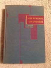 The Seventh of October / Jules Romains - 1946 - Hardback Book - 1st Edition