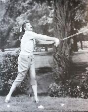 LUCILLE BALL Photo - B&W 8x10 Classic TV Show I LOVE LUCY Postcard - Golf