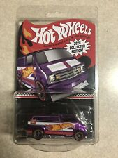 Hot Wheels collector edition Kroger Purple77 Custom Dodge Van mail in hand RR
