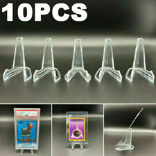 10PCS Card Stand Graded Cards Display Stand Coins Small Box Paper Clip Holder