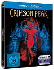 Crimson Peak [Limited Steelbook Edition] [Blu-ray/NEU/OVP] Guillermo del Toro