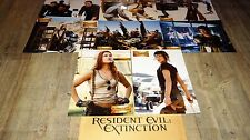RESIDENT EVIL 3 extinction ! jovovich jeu photos cinema lobby cards fantastique