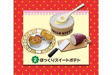 Re-ment Miniature Hello Kitty Retro Sweets Dessert Cake Sweet potato cake - No.2