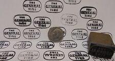 Vintage The General Tire Oil Printing Block Sign Gas Station Motor Oil Display