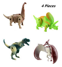 4 Pieces Kids Dinosaur Puzzle Toys-Easter Eggs Transformation Dinosaur Egg Toys