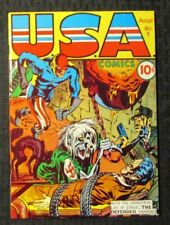 1970s FLASHBACK #3 VF- 7.5 Reprint USA Comics #1 The Defender