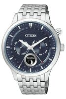 Citizen Men's Eco-Drive Sapphire Crystal Moon Phase 42mm Watch AP1050-56L