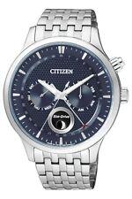 Citizen Men's Eco-Drive Sapphire Crystal Moon Phase 42mm Watch Ap1050-56L