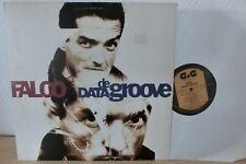 FALCO DATA DE GROOVE AUSTRIA ORIGINAL LP VON 1990 VINYL SEHR GUT!!