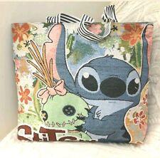 Lilo & Stitch Disney Borsa Grande Tela Tote Shopper Shopping Spalla Borsa Da Spiaggia