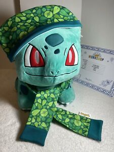 NWT Build-a-Bear  POKEMON BULBASAUR  with Sound & Outfit NEW