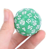 1pc 60 Face Gaming Dice  Sixty Sided Die Number 1-60 Acrylic Cubes Dice 0U