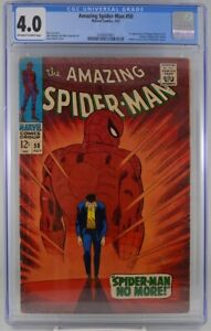 Amazing Spider-man #50 CGC 4.0 1st Appearance Kingpin 1967
