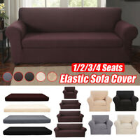 1 2 3 Seat Elastic Stretch Sofa Armchair Cushion Cover Couch Slipcover Recliner❥