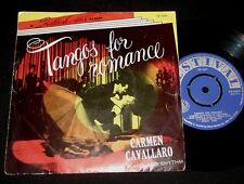 CARMEN CAVALLARO 1950s FESTIVAL  EP TANGOS FOR ROMANCE  piano