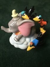 Disney Dumbo The Elephant China Teapot On Cloud With Crows Handle